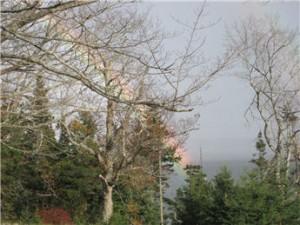 Rainbow over Eagle Island