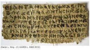 Karen King Papyrus Image