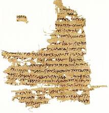 Manuscript - Mary Magdalene