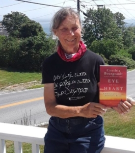 Cynthia with Imaginal book