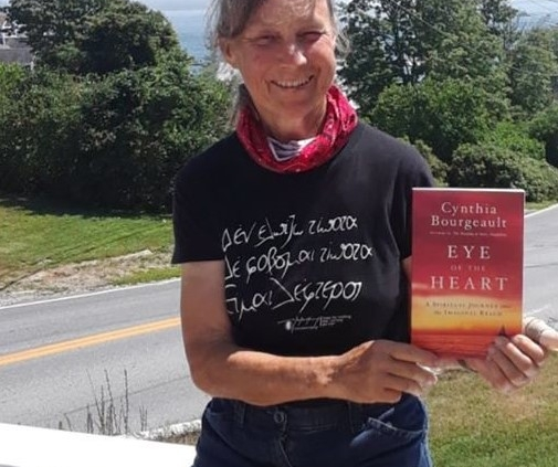 Cynthia with Imaginal book