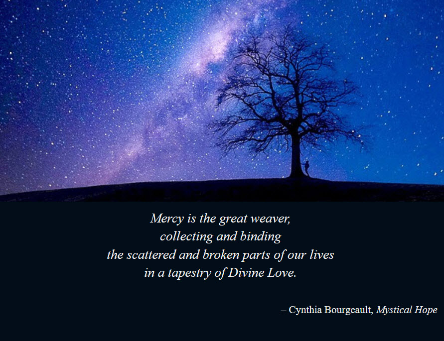 Night Sky and Mystical Hope quote