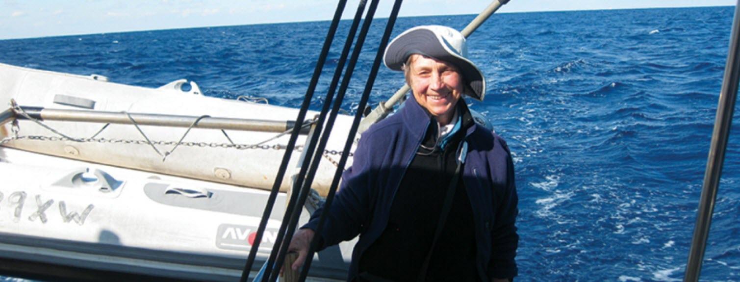 Cynthia at Sea